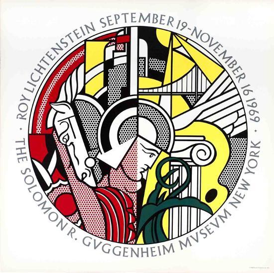 Guggenheim Museum-Roy Lichtenstein-Serigraph