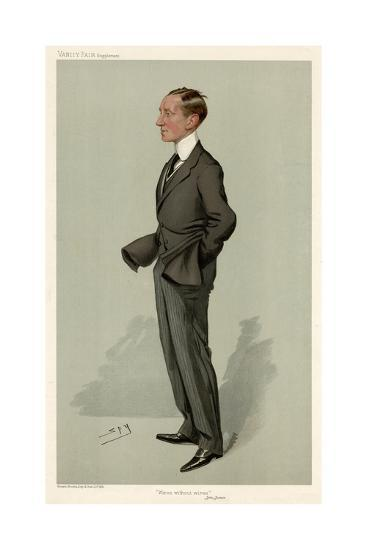 Guglielmo Marconi-Leslie Ward-Giclee Print