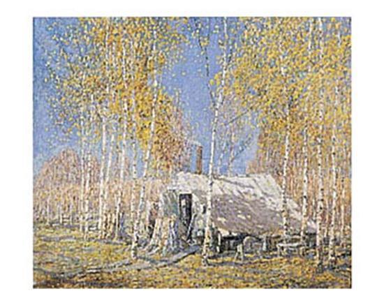 Guide's Home, Algonquin-Arthur Lismer-Art Print