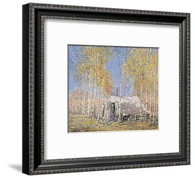 Guide's Home, Algonquin-Arthur Lismer-Framed Art Print
