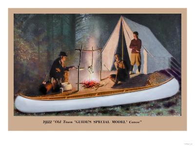 Guide's Special Model' Canoe--Art Print