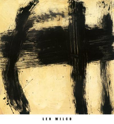 Guidelines II-Len Wilco-Art Print