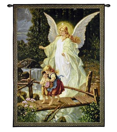 Guiding Angel--Wall Tapestry