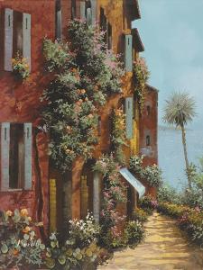 Av La Strada Verso Il Lago by Guido Borelli