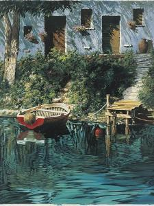 Garden by the Water by Guido Borelli