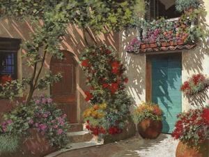 Il Cortile e i Fiori by Guido Borelli