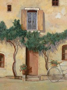 Mezza Bicicletta Sul Muro by Guido Borelli