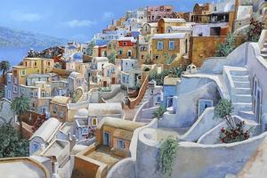 Santorini a Colori by Guido Borelli