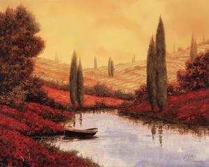 Silenzio Tra I Cipressi by Guido Borelli