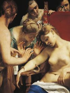 Death of Cleopatra, Circa 1660 by Guido Cagnacci