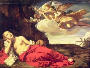 Penitent Mary Magdalene by Guido Cagnacci