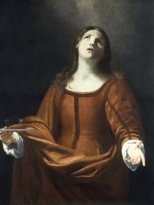 St Lucy by Guido Cagnacci
