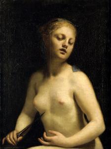 The Death of Lucretia, 17th Century by Guido Cagnacci
