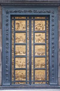 Le Porte Del Paradiso, East Side of Baptistery, by Lorenzo Ghiberti by Guido Cozzi