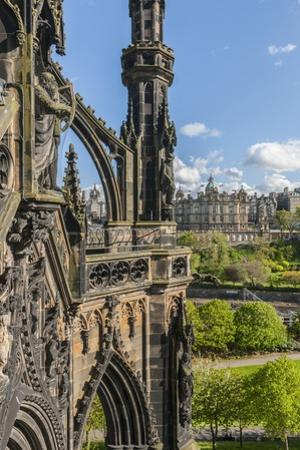 Old Town View from Scott Monument by Guido Cozzi