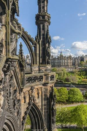 Old Town View from Scott Monument