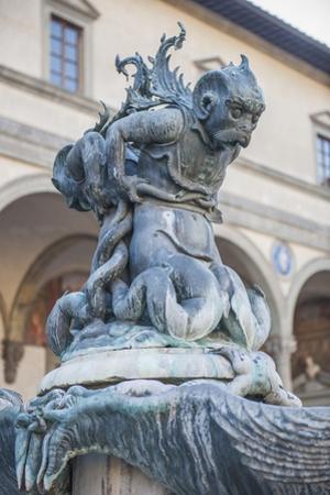 Piazza Santissima Annunziata, Fontana Del Tacca, Details by Guido Cozzi