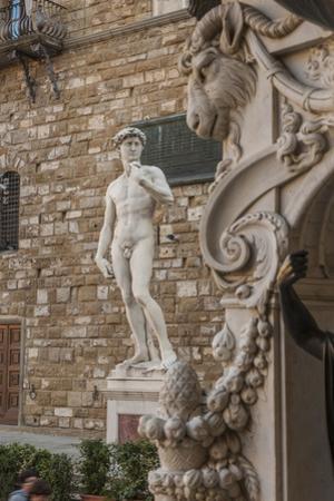 Piazza Signoria, Davide by Michelangelo by Guido Cozzi