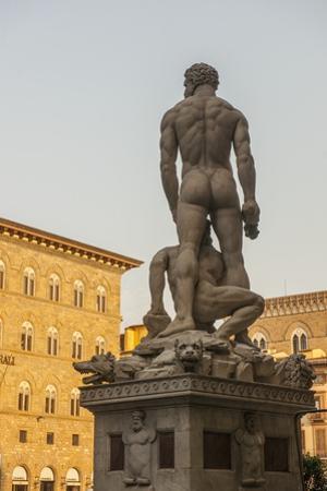 Piazza Signoria, Ercole E Caco Statue by Guido Cozzi
