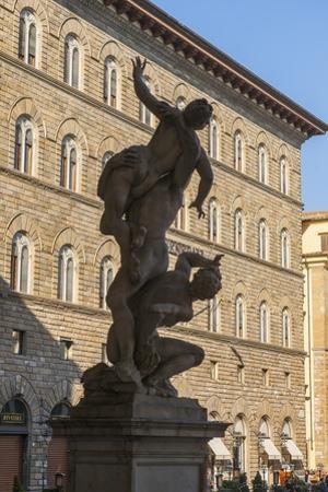 Piazza Signoria, Ratto Delle Sabine by Guido Cozzi