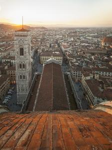 View of the Town from the Dome of Santa Maria Del Fiore Cathedral by Guido Cozzi