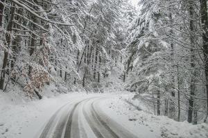 Winter Landscape near Passo Della Consuma by Guido Cozzi
