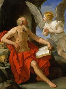 Angel Appearing to St. Jerome, c.1640 by Guido Reni