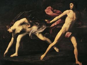 Atalanta and Hippomenes by Guido Reni