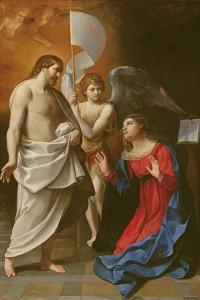 Christ Appearing to the Virgin, C.1608 by Guido Reni