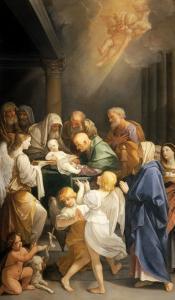 Circumcision by Guido Reni