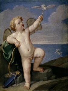 Guido Reni / Cupid, 1637-1638 by Guido Reni