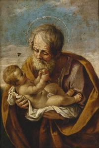 Joseph and the Christ Child in His Arms by Guido Reni
