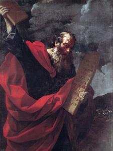Moses with the Tablets of the Law by Guido Reni