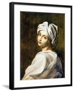 Portrait of Beatrice Cenci, Housed in the Galleria Nazionale d'Arte Antica, Rome by Guido Reni