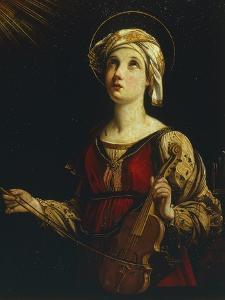 Saint Cecilia by Guido Reni
