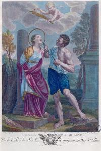 St. Apollonia by Guido Reni
