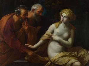 Susannah and the Elders, 1622-1625 by Guido Reni