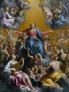 The Assumption of the Virgin. Ca. 1596 - 97 by Guido Reni