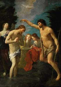 The Baptism of Christ, 1623 by Guido Reni