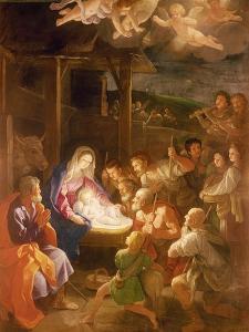 The Nativity at Night, 1640 by Guido Reni