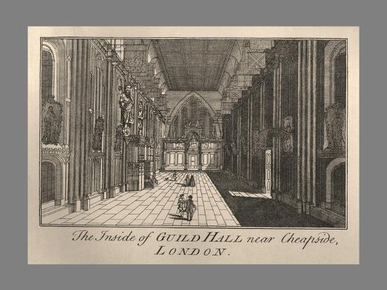 Guild Hall Interior, 1886-Unknown-Giclee Print