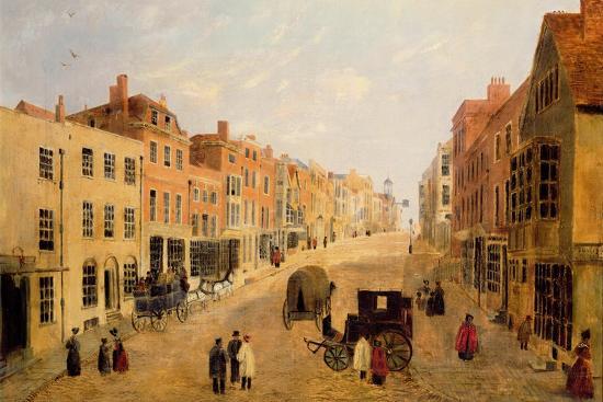 Guildford High Street--Premium Giclee Print