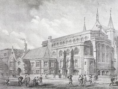 Guildhall Library, London, 1872-Sprague & Co-Giclee Print