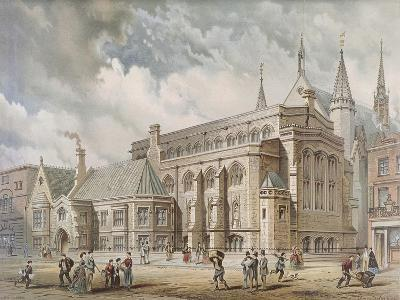 Guildhall Library, London, 1872-Edwin Thomas Dolby-Giclee Print