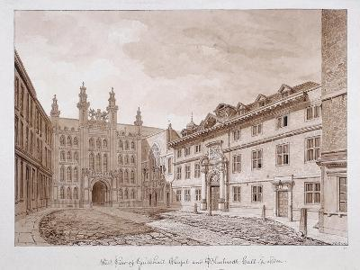 Guildhall, London, 1739-William Henry Toms-Giclee Print