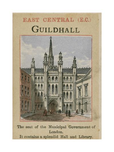 Guildhall--Giclee Print
