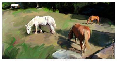 Guilford Horses I-Robert Mcclintock-Art Print