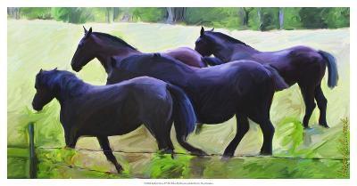 Guilford Horses II-Robert Mcclintock-Art Print