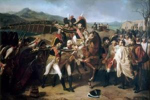 Surprise at the Bridge over the Danube on 13 November 1805 by Guillaume Guillon Lethiére