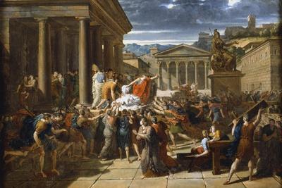 The Death of Caesar, 44 BC (C1780-183)